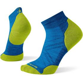 Smartwool Run Targeted Cushion Calzini Uomo, blu/giallo